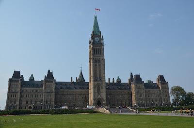 Parlamentsgebäude bei Tag