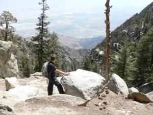 Blick vom Mount San Jacinto ins Tal