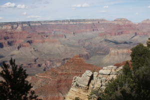grand canyon erster blick