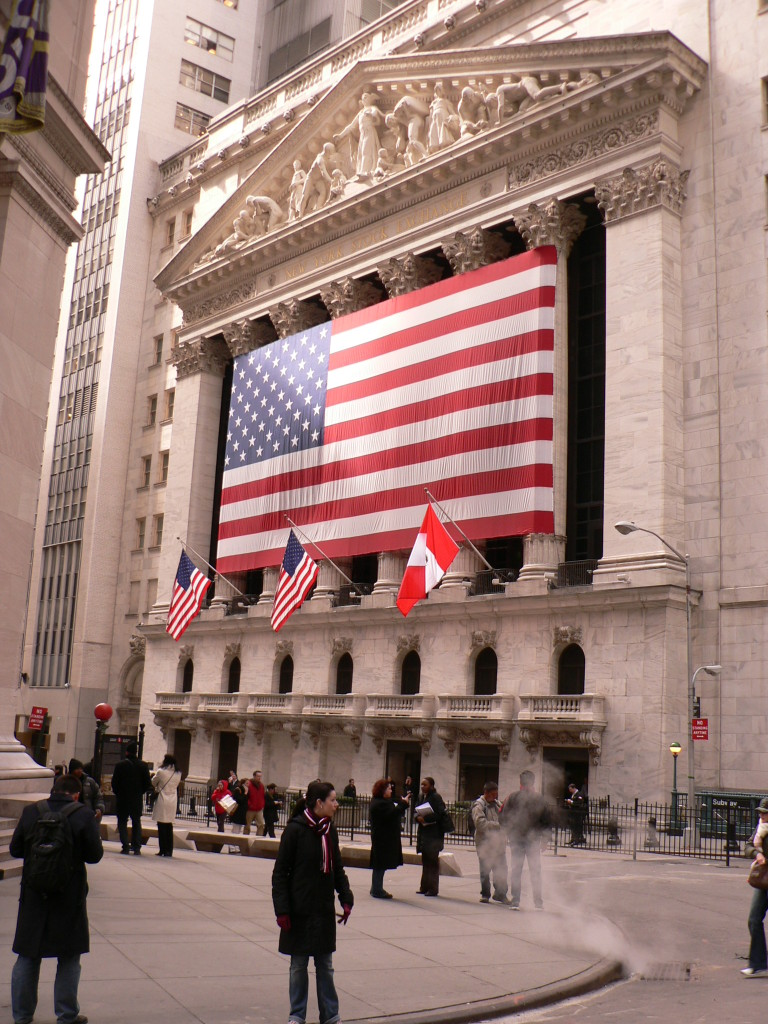 die Börse von NY