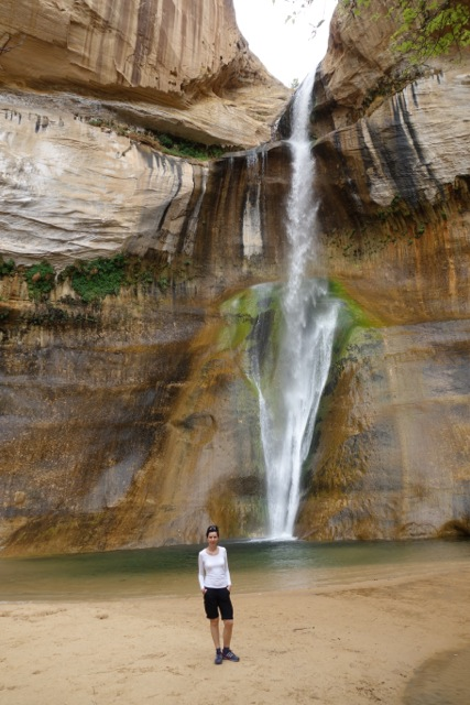Calf Creek Waterfall