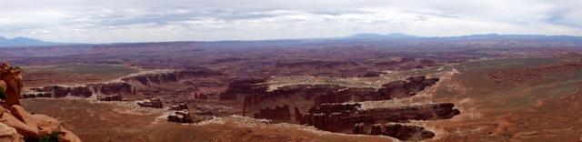 Panorama vom Grand View Overlook