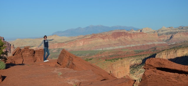 Sunset Point Capitol Reef