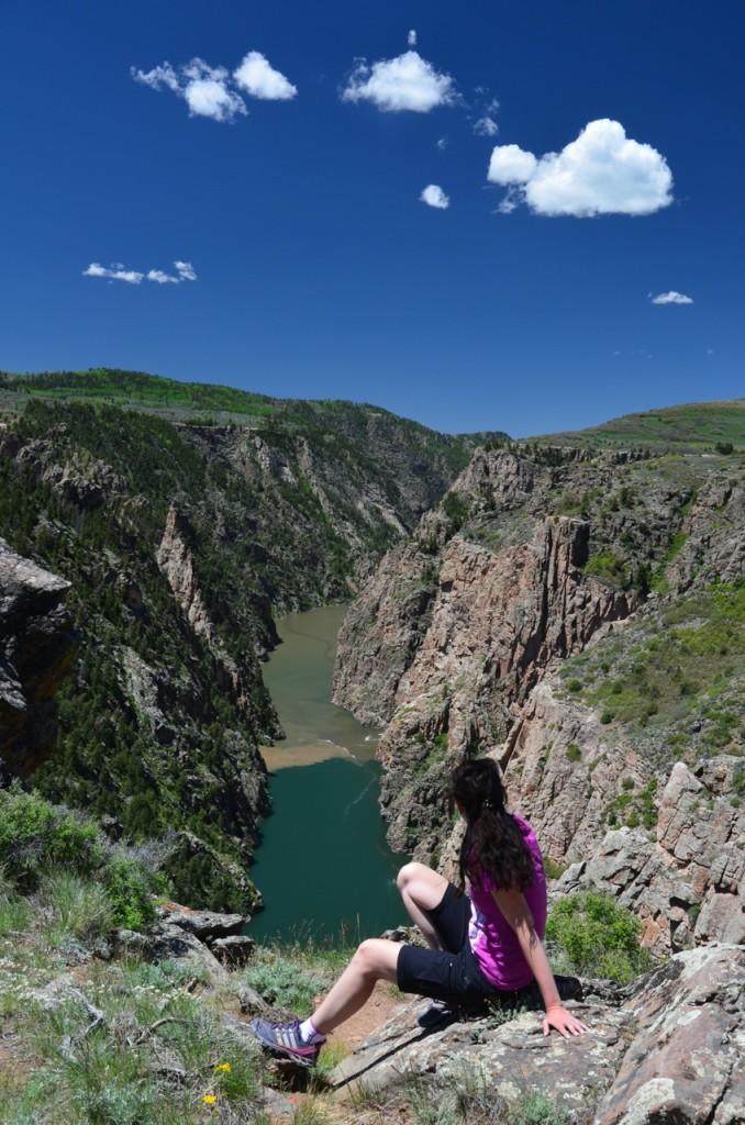Blick in den Black Canyon vom North Rim
