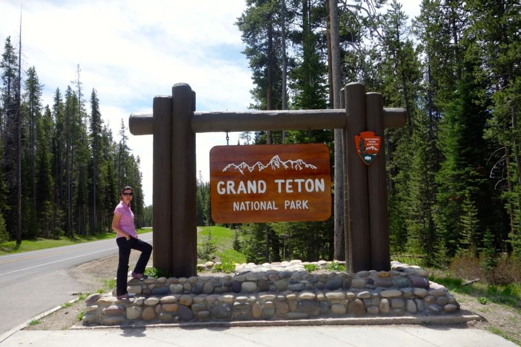 Grand Tetom Eingang