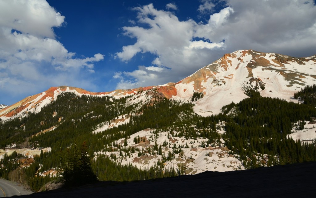 Highway 550, Red Mountains