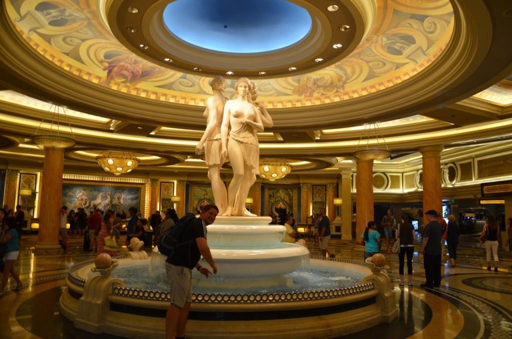 Las Vegas_Brunnen