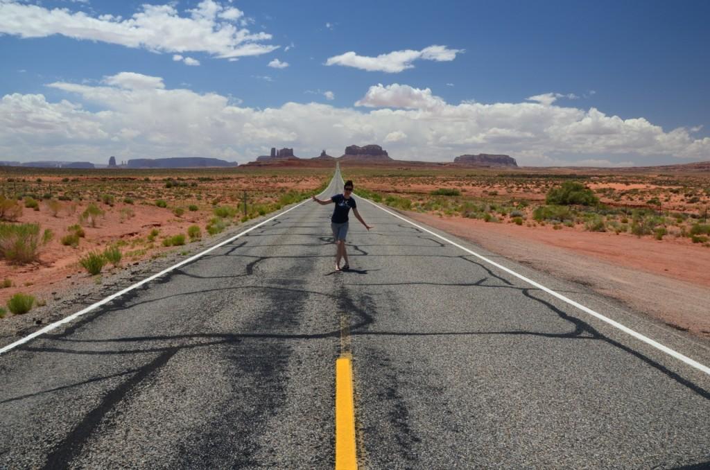 schon allein der Weg zum Monument Valley bot schöne Motive