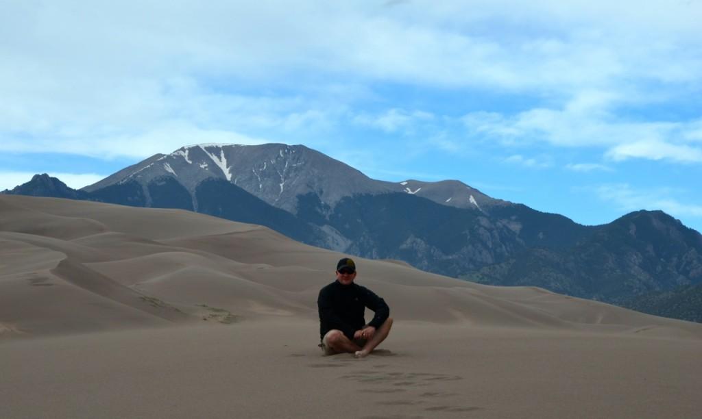 Sand Dunes Micha abends