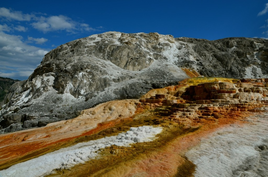 Yellow_Mammoth Hot Springs