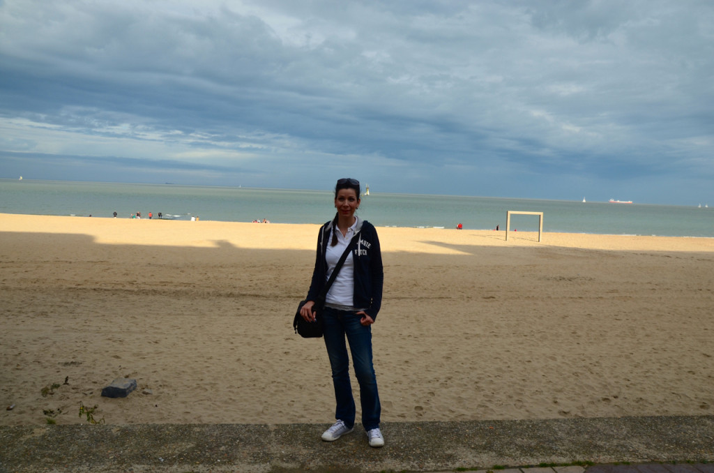 Knokke heist strand mandy
