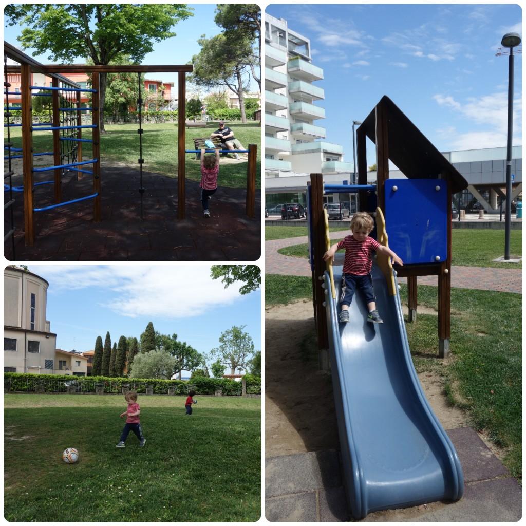 Collage_Fotor_Spielplatz Park Trieste